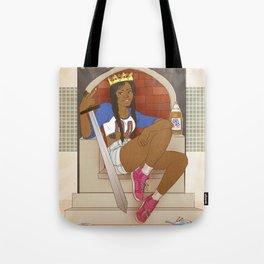 Queen of Swords - Azealia Banks Tote Bag