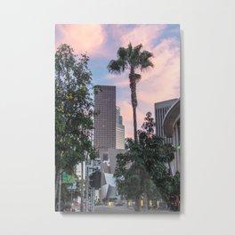 Palm City Sunset Metal Print