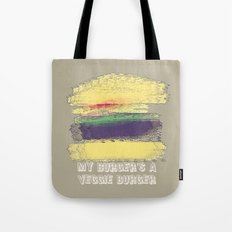 Veggie Burger  Tote Bag