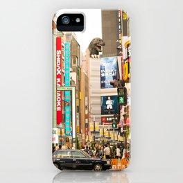 Kabukicho, Shinjuku. iPhone Case