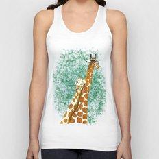 giraffes Unisex Tank Top
