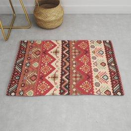 N57 - Bohemian Oriental Traditional Moroccan Original Style Design Rug