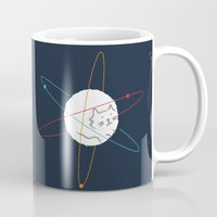 physics Mugs featuring Cat-ion by Picomodi