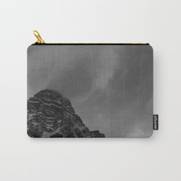Stormy, Winter Mountain Carry-All Pouch