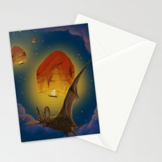 Afraid of the light  Stationery Cards