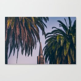 Transamerica Pyramid Canvas Print