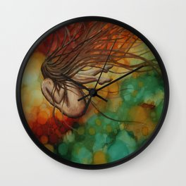 Embryonic Journey Wall Clock