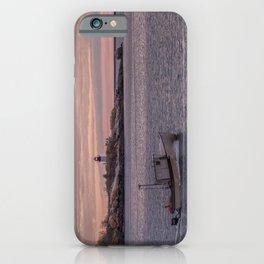 Ten pound Island Lighthouse sunset iPhone Case