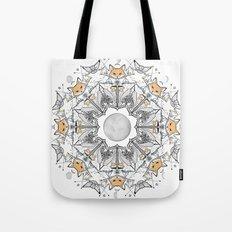Pacific Mandala Tote Bag