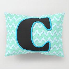 Letter C Pillow Sham
