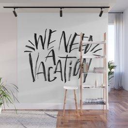 Vacation Wall Mural