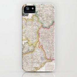 Vintage Map of Ireland (1794) iPhone Case