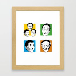 Carry On - Kenneth Williams, Sid James, Charles Hawtrey Framed Art Print