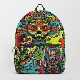Cute Skull Dia de Los Muertos Backpack