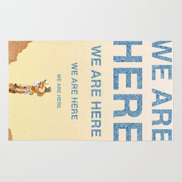 We Are Here-The Martian Rug