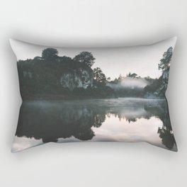 Waikato River II Rectangular Pillow