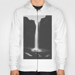 Hidden waterfall - Landscape and Nature Photography Hoody