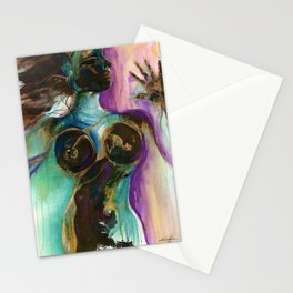 Earth Goddess by Kathy Morton Stanion Stationery Cards