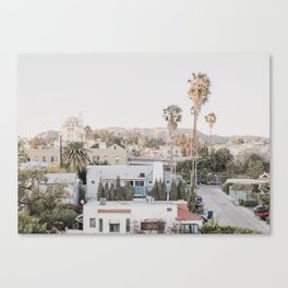 Hollywood California Canvas Print
