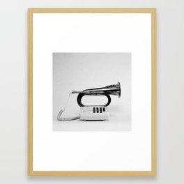 Blower/Horn Framed Art Print