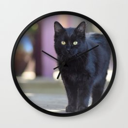 The Cutest Bad Luck Wall Clock