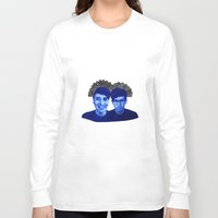 danisnotonfire Long Sleeve T-shirts featuring AmazingPhil & Danisnotonfire by xzwillingex