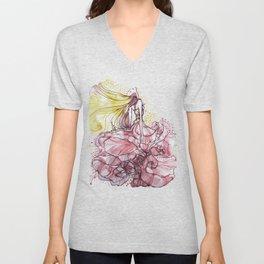 Flowergirl Unisex V-Neck