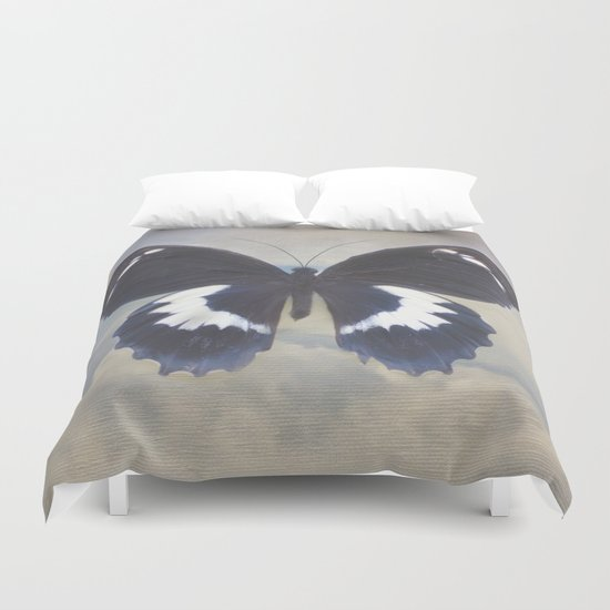 Butterfly Sky Duvet Cover