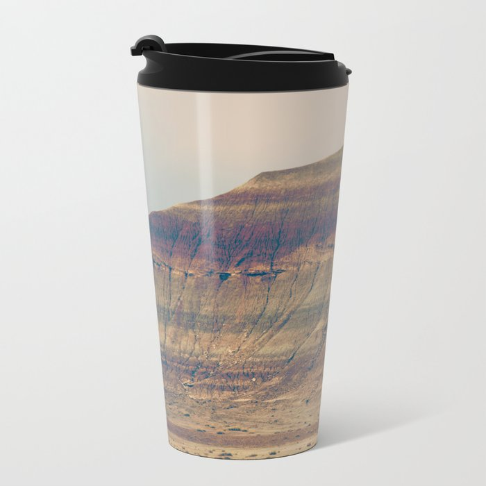 Petrified Desert Metal Travel Mug