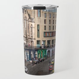 Victoria Street in Edinburgh, Scotland Travel Mug