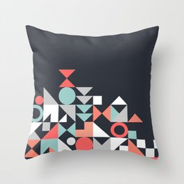 Modern Geometric 30 Throw Pillow