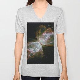 The Butterfly Nebula Unisex V-Neck