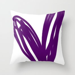 H'ART.SPEAX (white) Throw Pillow