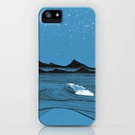 Imperfect waves iPhone Case