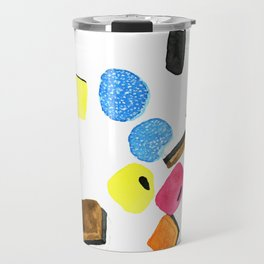 Watercolor Licorice Candy Sweets Travel Mug