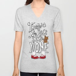 There´s no place like Home Unisex V-Neck