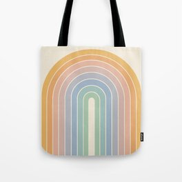 Gradient Arch - Rainbow III Tote Bag