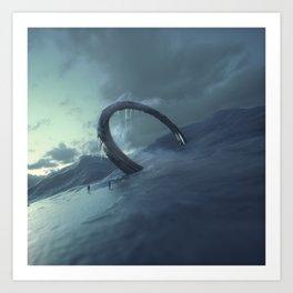Stargate I Art Print
