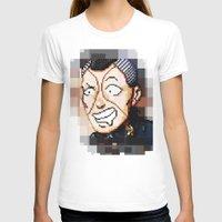 jjba T-shirts featuring JJBA - Okuyasu Nijimura Pixel Art by Chooone