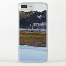 Shaldon at Low Tide Clear iPhone Case