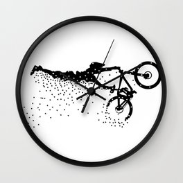 MTB Superman Puzzle Wall Clock
