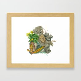 Micro Habitat Framed Art Print