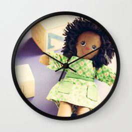 The Friendly Playmate Wall Clock