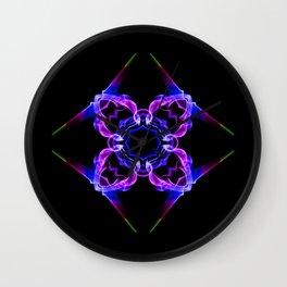 Smoke flower Wall Clock