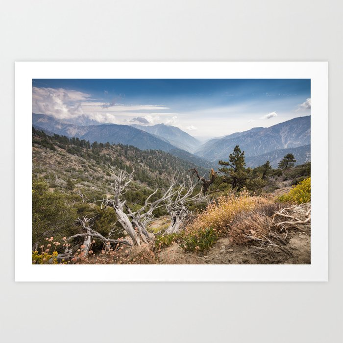 Inspiration Point along Pacific Crest Trail Art Print