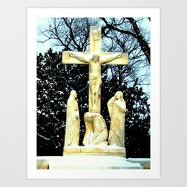 Beautiful Jesus Art Print