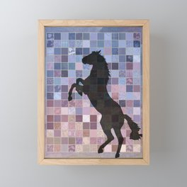 Wild Horse Framed Mini Art Print
