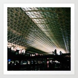 Union Station, Washington DC Art Print