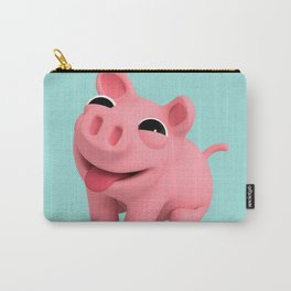 Rosa the Pig Happy Carry-All Pouch