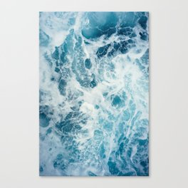 Rough Sea - Ocean Photography Canvas Print